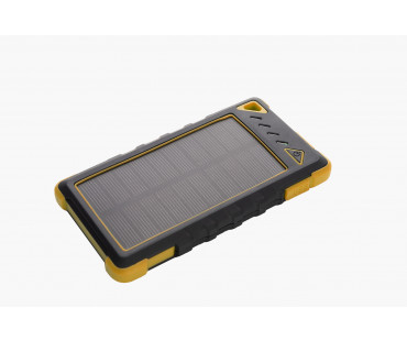 Power bank solarny 8000 mAh IKIMBA żółty