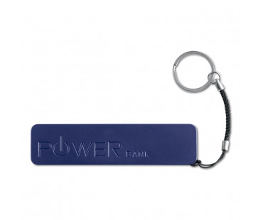Cienki PowerBank 2200 mAh Power mate granatowy