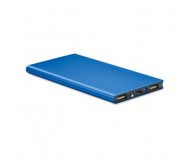 Power bank 8000mAh Powerflat8 - niebieski